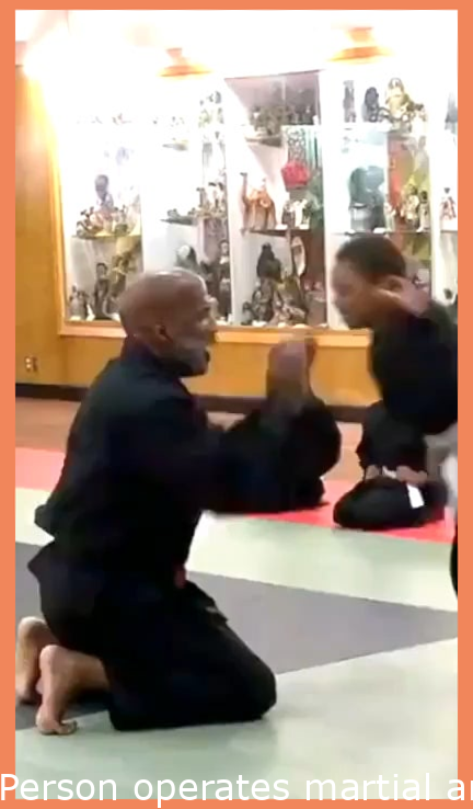 Man runs martial arts clinic for boys without fathers